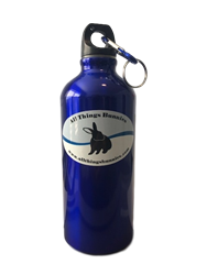 All Things Bunnies Logo Water Bottle 20oz