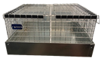 2 Hole Cavy/Chinchilla Carrier/Transport Cage