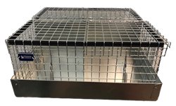 4 Hole Cavy/Chinchilla Carrier/Transport Cage