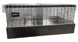 2 Compartment Chinchilla Carrier/Transport Cage
