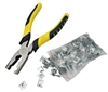Metal Cage Clips and Heavy Duty Pliers Kit