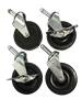 "3"" Heavy Duty Swivel Casters/Wheels"