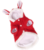 Christmas Rabbit Ears Hooded Coat Costume