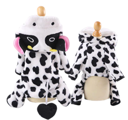 Cow Costume for Bunnies