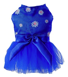 Royal Blue Bunny Dress