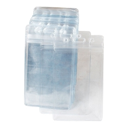 Cage Tag Clear Plastic Protector