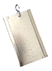 Galvanized Cage Card Holder