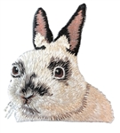 Netherland Dwarf Embroidered Patch