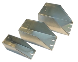 Galvanized Slotted Feed Scoop