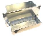 No Cut Wire Galvanized Perforated Feeder