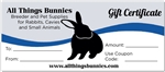 All Things Bunnies Gift Card