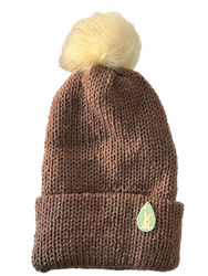 Knitted Red Bunny Hat