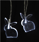 10 LED Rabbit String Lights