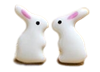 Ceramic Bunny Stud Earrings