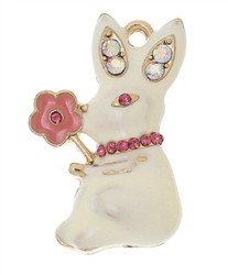 Flower Bunny Necklace