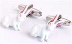 White Rabbit Cufflinks
