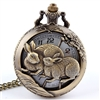 Rabbit Pocket Watch Necklace