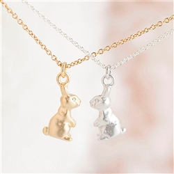 Bunny Pendant Necklace