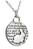 Inspirational Bunny Charm Necklace