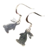 Stainless Steel Bunny Earrings