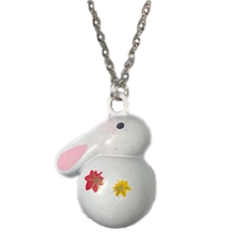 Bunny Bell Necklace