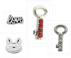 Charms for Bunny Necklace/Bracelet/Keychain