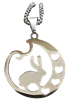 Stainless Steel Rabbit Necklace