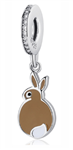 .925 Sterling Silver Bunny Pandora Charm