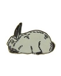 Californian Rabbit Pin/Brooch
