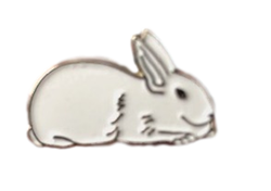 New Zealand Rabbit Pin/Brooch