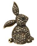Vintage Rabbit Pin/Brooch