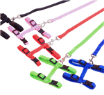 H Style Harness and Leash for Rabbit Jumping