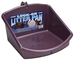 Marshall Pet Lock-On Litter Pan - High Back