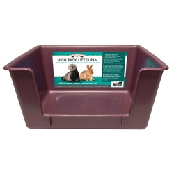 Marshall Pet High Back Litter Pan