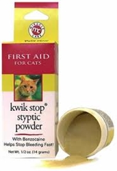 Kwik Stop Styptic Powder 0.5oz