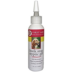Miracle Care Kwik Stop Styptic Gel 4oz