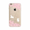Bunnies & Flowers Case 1 for IPhone 7 & 7 Plus