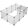 Wire Grid Small Pet Playpen Kit