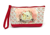 Holland Lop Rabbit Clutch/Cosmetic Bag