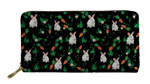 Bunnies and Carrots Wallet/Organizer