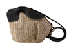 Woven Straw Rabbit Bag - 2 Colors