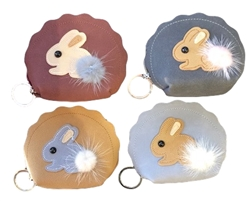 Rabbit Coin Purse - 4 Colors