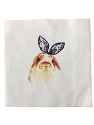 All Things Bunnies Holland Lop Quilting Square