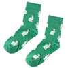 All Things Bunnies Green Bunny Socks