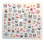Bunny Nail Art Stickers