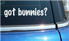 Got Bunnies? Decal/Sticker