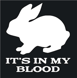It's In My Blood Decal/Sticker