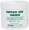 STONE Tattoo Green Ink 3oz.