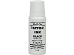 STONE Tattoo Black Ink Roll On 2oz