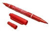 Double Head Tattoo Skin Marker - Red